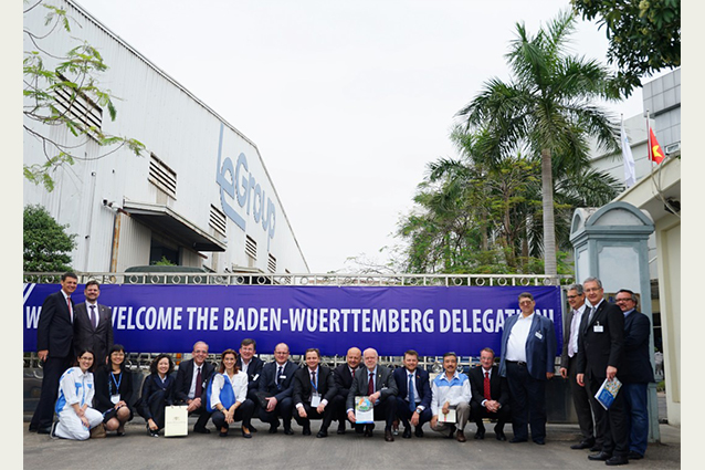 High lever Business Delegation from Baden-Wuerttemberg, Germany visits LeGroup.
