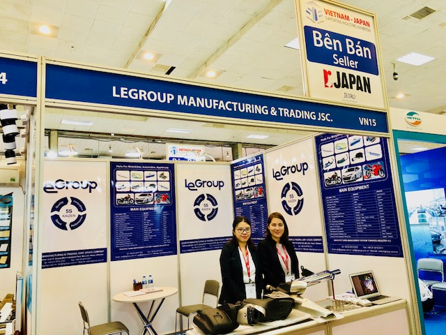 LeGroup is participating in the 8th Vietnam - Japan Supporting Industry Exhibition in Hanoi