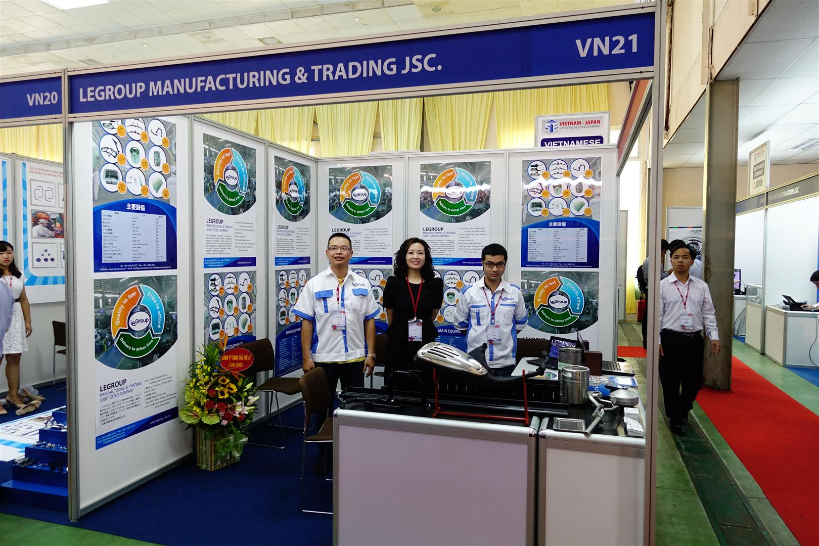 LeGroup is attending The Vietnam - Japan Supporting Industries Exhibition in Hanoi.